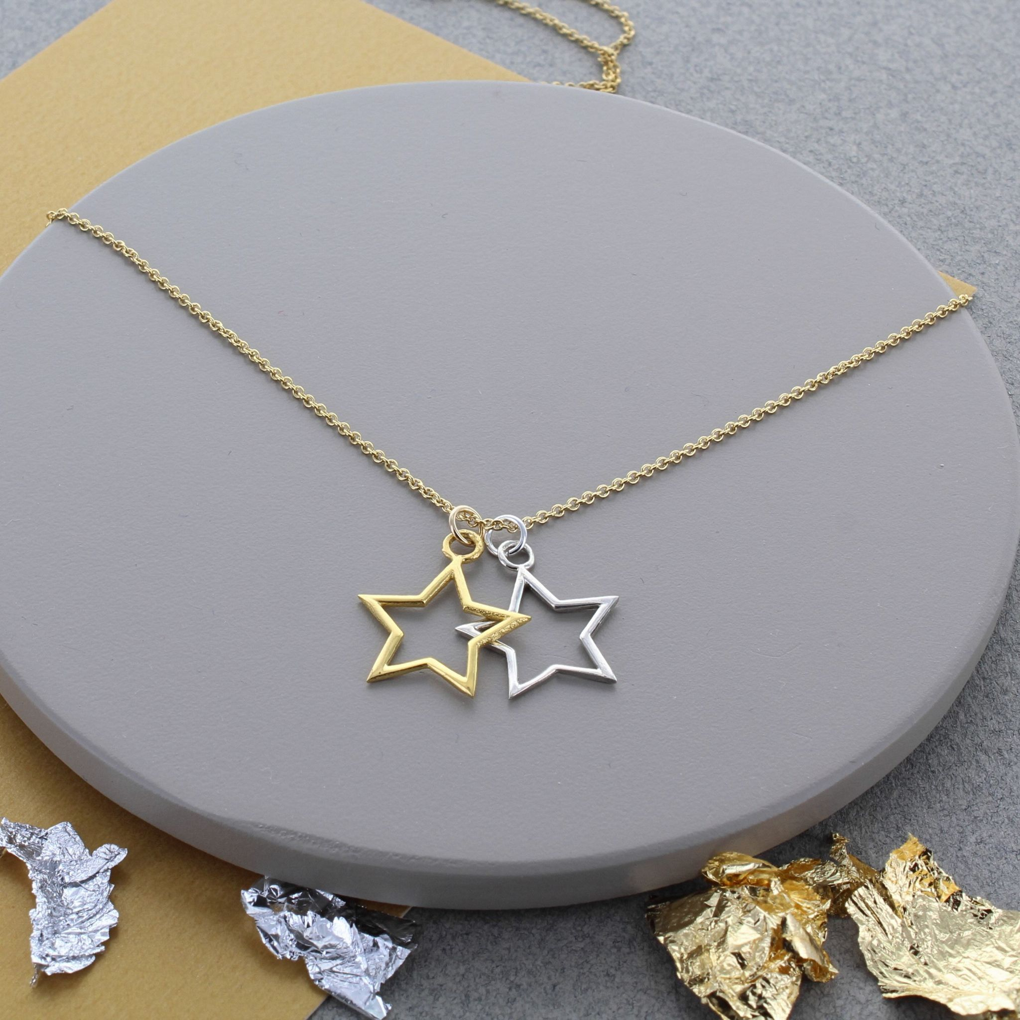 necklace yellow himiko diamond dana rebecca julianne designs gold star